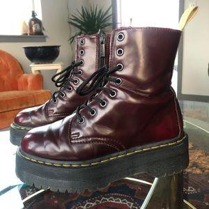 jadon dr martens platform boots